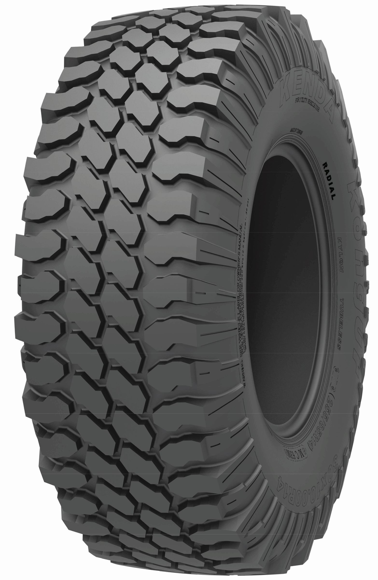 Kenda Will Display Kongur UTV Tires at AIMExpo