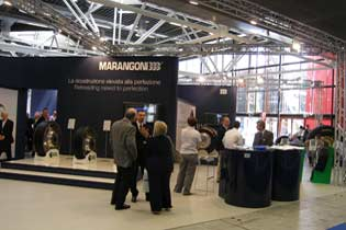 Marangoni displayed products at Autopromotec