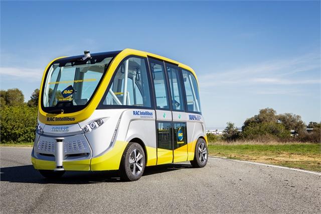 Australia Begins Testing Of Self Driving Electric Bus