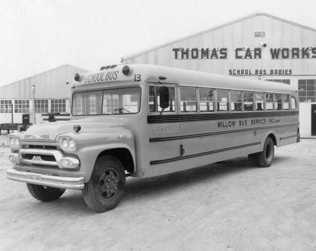 Thomas Built Buses >> PHOTOS: 100 Years of Thomas Built Buses - Management - School Bus Fleet