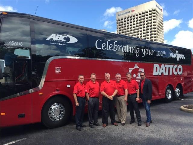 Dattco Adds 100th Van Hool To Its Fleet Motorcoach