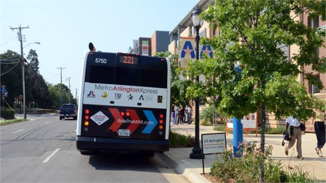 arlington texas launches first mass transit service bus metro magazine. Black Bedroom Furniture Sets. Home Design Ideas