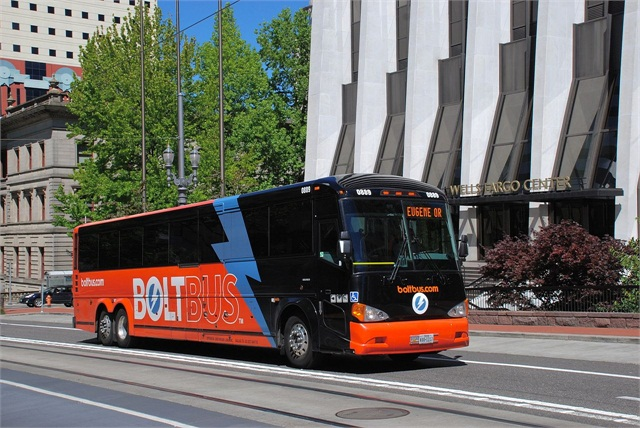 Bolt Bus Finding Success In Pacific Northwest Motorcoach