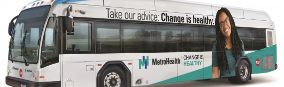 Cleveland Rta S Unveil Newly Branded Metrohealth Line