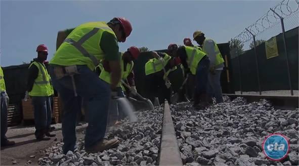Cta S Red Line Reconstruction Project Creates 1 000 Plus