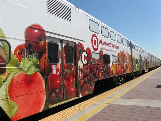 Car Wrap Cost >> Innovative ads bring in revenue for Caltrain - Rail - Metro Magazine