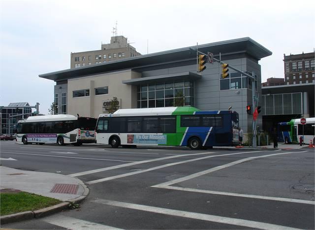 N.Y.'s Centro opens $18.8M transit hub - Bus - Metro Magazine Y Intersection