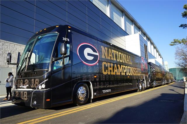 S c 39 s champion coach provides exclusive transportation for Atlanta motor coach companies