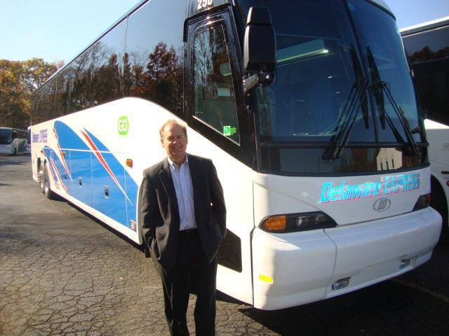 Mci Delivers 2 New J4500s To Delaware Express Management
