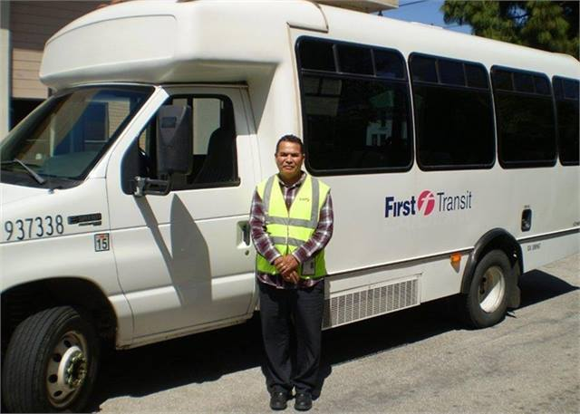 First Transit paratransit driver rewarded for 10 years of safe ...