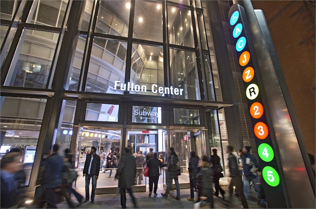 N Y Mta 39 S Fulton Center Receives Leed Silver Certification Sustainability Metro Magazine