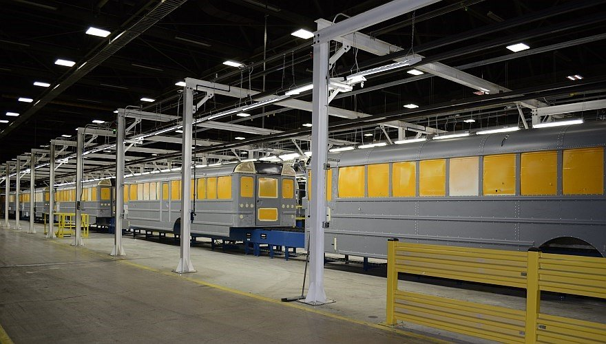 Thomas Built Buses >> PHOTOS: IC Bus Plant Upgrades Streamline Production - Management - School Bus Fleet