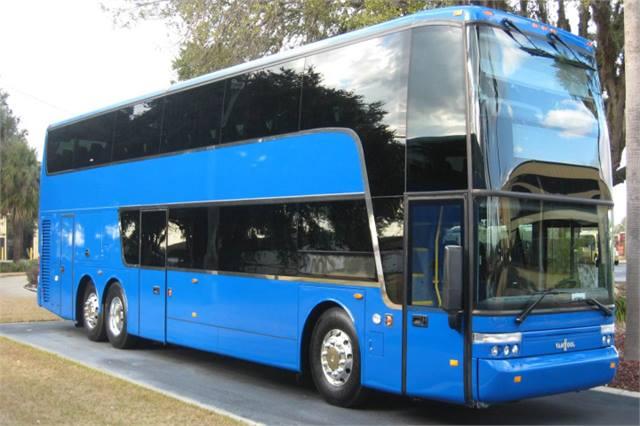 Megabus Debuts 100th Van Hool Double Deck Motorcoach