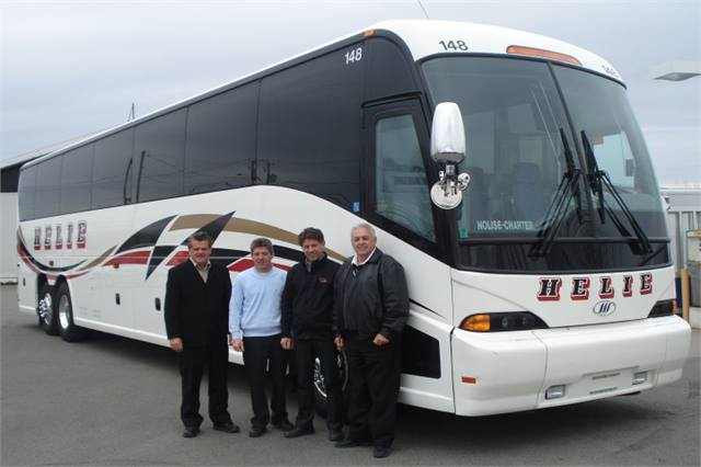 Mci Delivers To Quebec New Orleans Motorcoach Metro