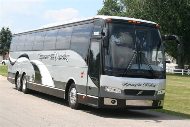 Prevost delivers Volvo 9700 to Minnesota Coaches - Motorcoach - Metro Magazine