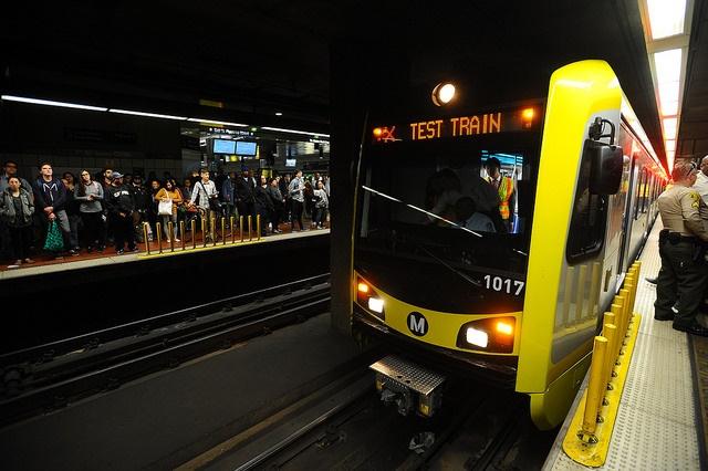 l a  metro receives milestone 50th kinkisharyo light rail