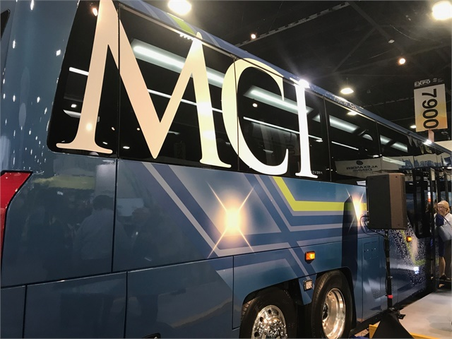 Mci Unveils A New Commuter Coach And More At Expo Bus
