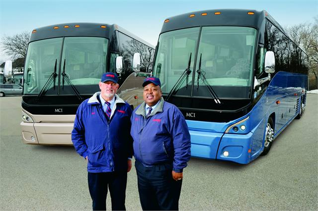 Mci Delivers To Nebraska Maine Motorcoach Metro Magazine