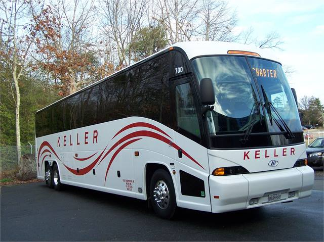 Mci Delivers J4500s To Maryland Texas Motorcoach