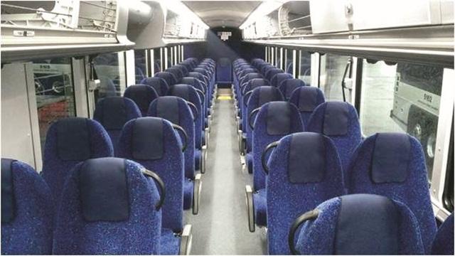 Comfort Line Seating Bus Metro Magazine
