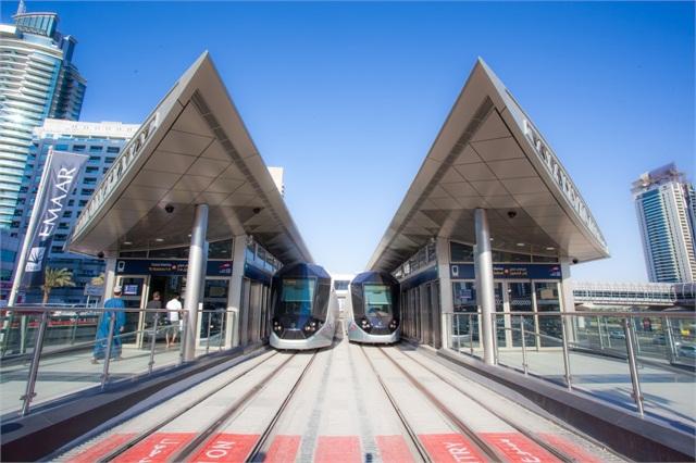 Dubai Tram System Alstom S Innovative Rail Tech Takes Off