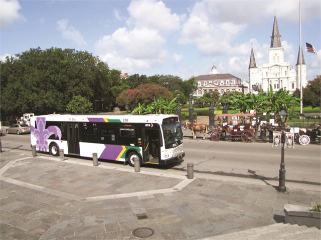 orion buses help new orleans handle ridership growth bus metro magazine. Black Bedroom Furniture Sets. Home Design Ideas