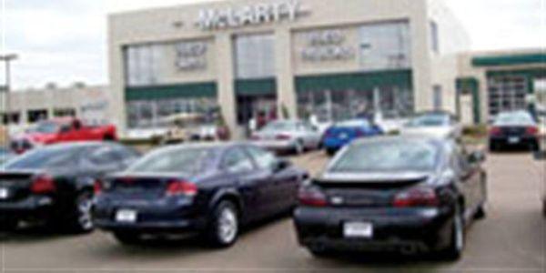 McLarty Auto Mall in Texarkana, Texas.
