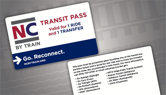 Nc By Train Partners With 11 Transit Systems To Connect The Last