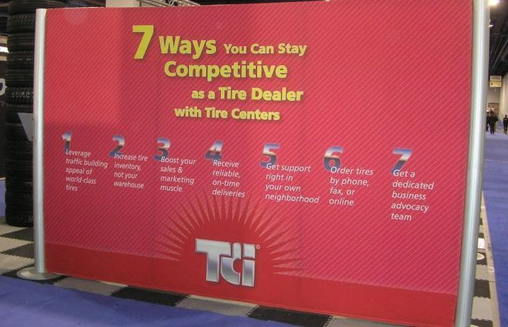2009 SEMA Show-goers: a 'who's who' of the tire industry