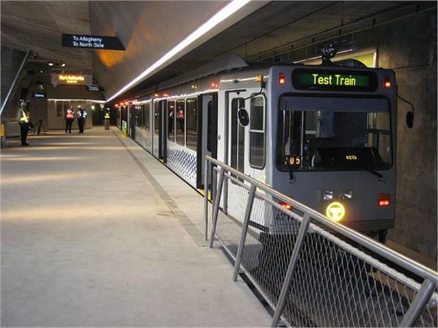 Pittsburgh light rail extension readies for opening rail metro magazine - Pittsburgh port authority ...