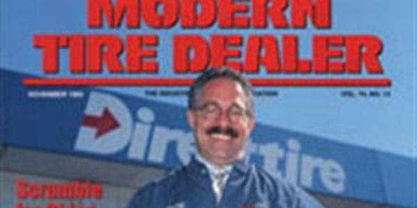 Barry Steinberg of Direct Tire & Auto Service in Watertown, Mass., was MTD's first Dealer of the...