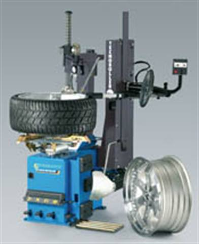 More high-tech service equipment for high performance tires and wheels: Balancers and changers target 26-, 28- and 30-inch rim diameters