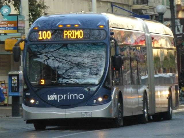San Antonio Via Brt Service Wins Award Bus Metro Magazine
