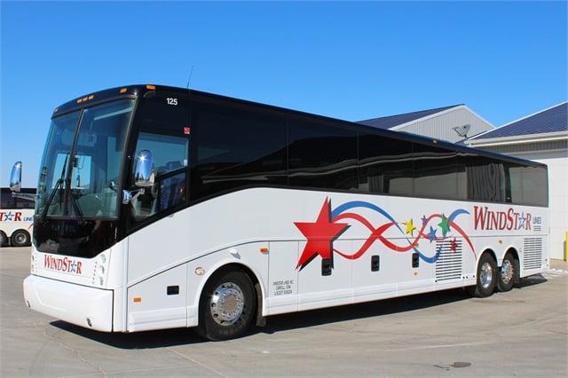 Abc Delivers Van Hools To Iowa Calif Motorcoach