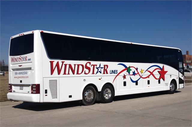 Abc Delivers T2145 To Windstar Lines Motorcoach Metro
