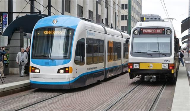 Dart Tests Kinkisharyo Streetcar Rail Metro Magazine