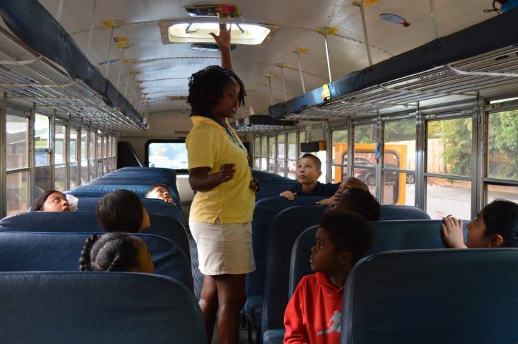 Photos Students Learn School Bus Safety In Soar Program