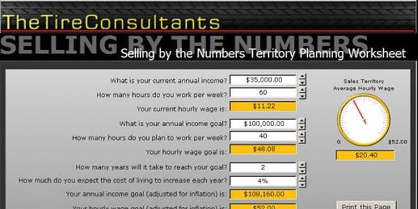 Use this calculator to help determine your hourly wage. Before you can work to attain your...