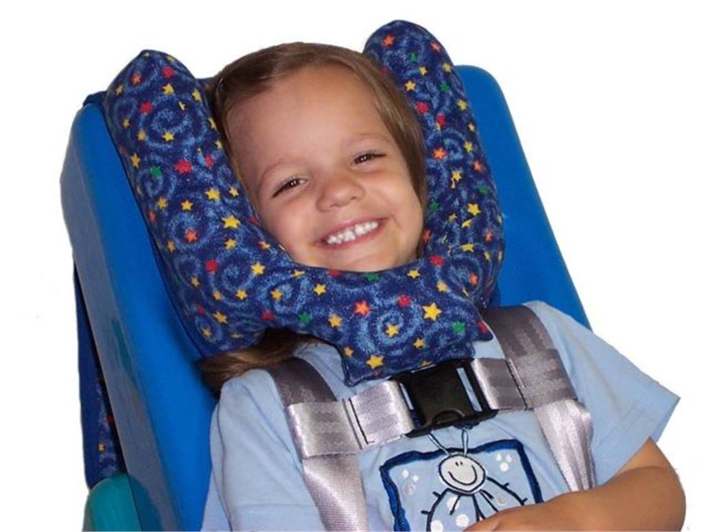 Headrest provides comfort for special-needs students - Special Needs ...