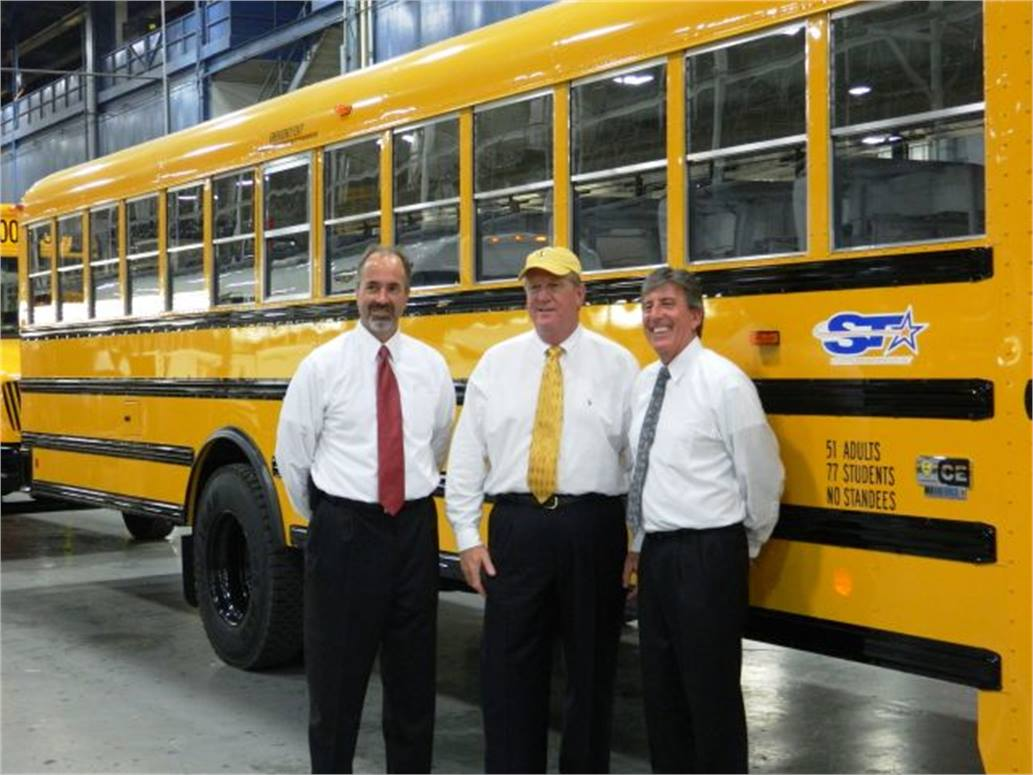 IC Bus completes 100,000th school bus at Tulsa - Management