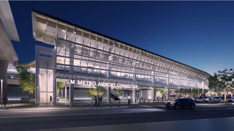[Video] LAX Airport Metro Connector - 96th Street Transit Station