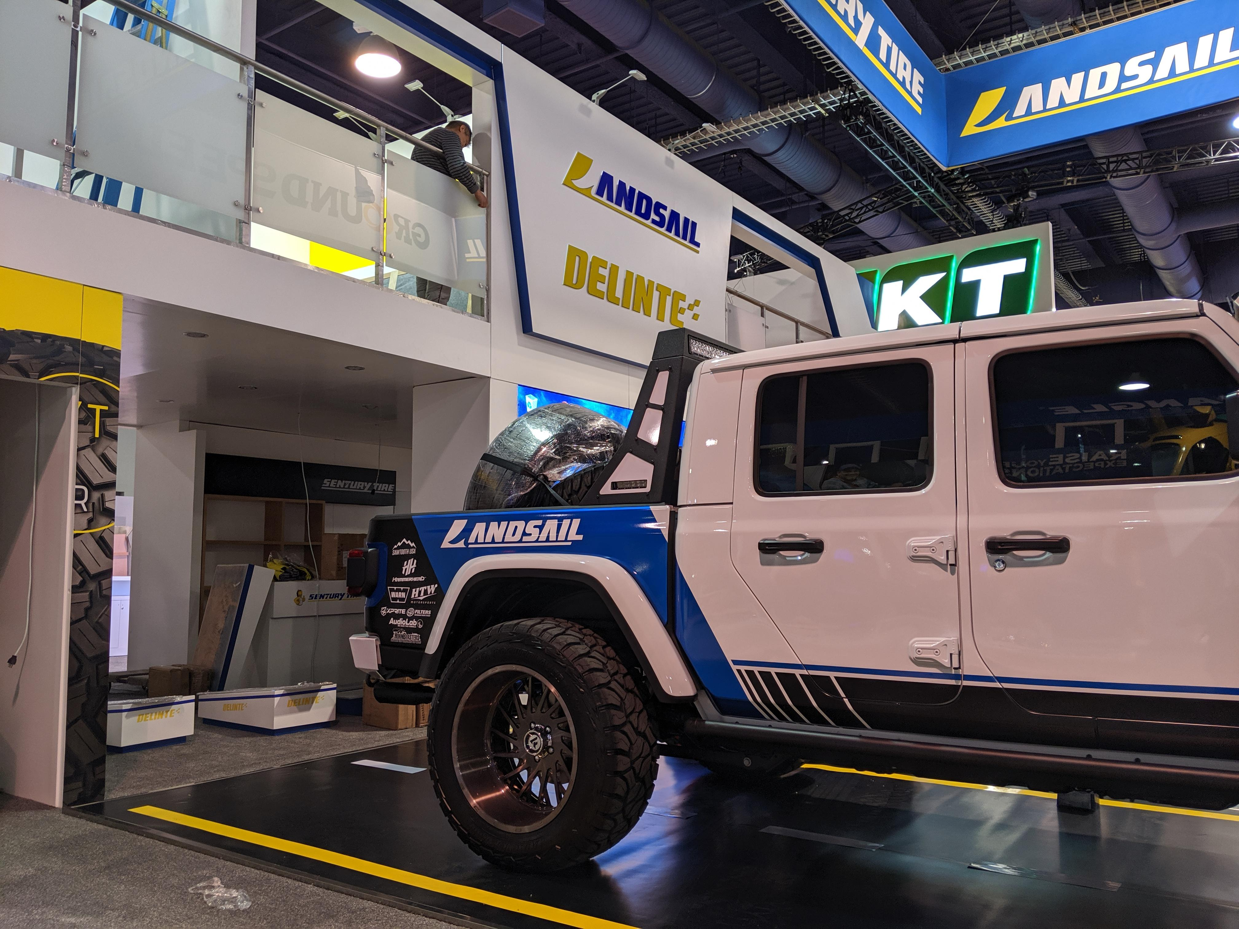 Blog 2: Early Activity on the GTE Trade Show Floor