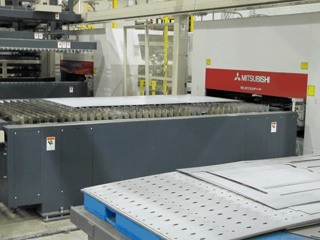 Laser cutters boost quality, efficiency at Thomas Built