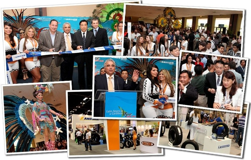 Latin American tire expo opens in July