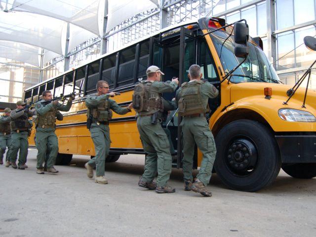 Shooter response training draws captive audience