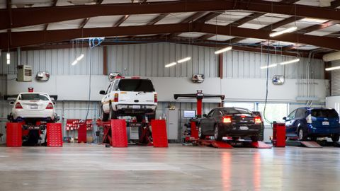 To help meet the benchmark of one alignment for every four tires sold, alignments are the only...