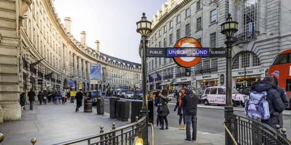 London's Picadilly Circus station © visitlondon.com/Antoine Buchet