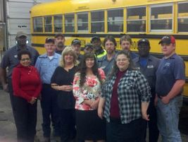 The transportation staff at Jackson-Madison County Schools in Jackson, Tenn., was treated to...