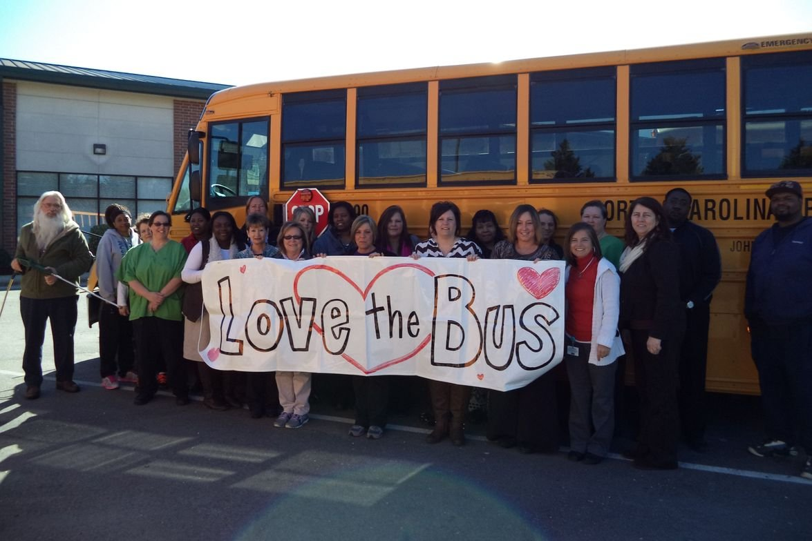 On Feb. 11, North Carolina held statewide Love the Bus celebrations. An event sponsored by HSM...
