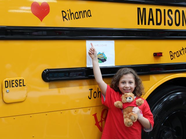 Love the Bus Events Treat School Bus Drivers With Valentines, Meals